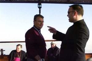 On the Sea of Galilee with Raouf