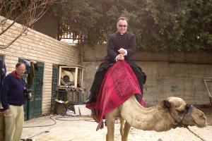 Camel ride near Jericho