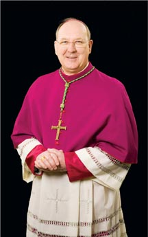 Bishop Kevin Farrell of Dallas, formerly of Washington