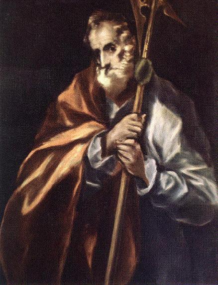 El Greco St. Jude