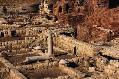 Ruins in Alexandria, Egypt