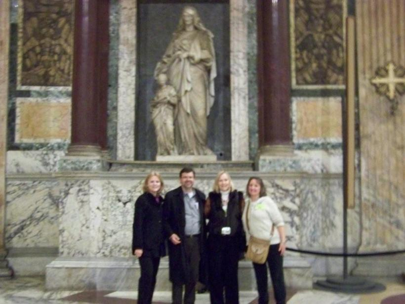 In St. Peter's Basilica