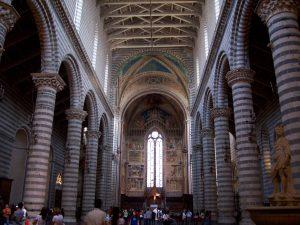 Interior of the Orvieto Duomo