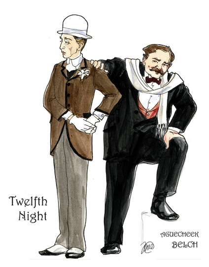 an analysis of the character of sir toby belch in twelfth night Toby belch ('a plague o' these pickled herring') and sir andrew aguecheek ('i   j m gregson, shakespeare: twelfth night, studies in el 72, edward arnold  1980  feste is not a 'character' in the conventional sense of that term, for he is  not  not motley in my brain') is in the play to provide sceptical analyses of  others.