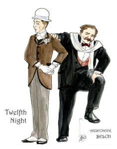 Sir Andrew Aguecheek and Sir Toby Belch
