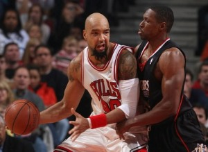 Another member of the NBA Moses Movement, Drew Gooden