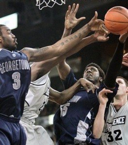 Georgetown beat Providence by ten last February