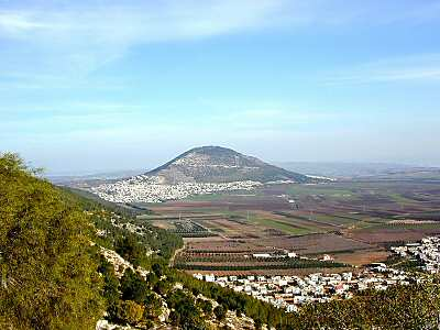 Mount Tabor, seen from the north