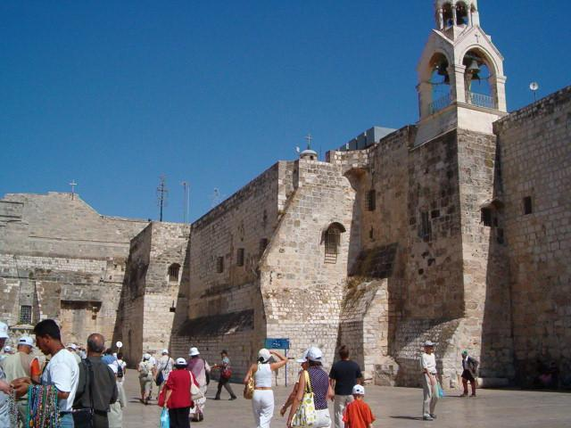 Basilica of the Nativity, where Christ was born
