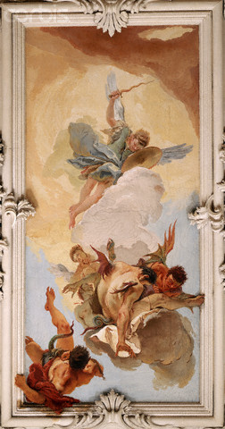 Fall of the Rebel Angels by Tiepolo