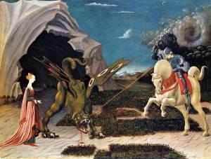 Saint George, feast day April 23
