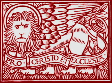 St. Mark is symbolized by the lion