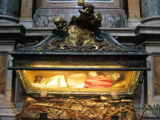 Pius V in Santa Maria Maggiore