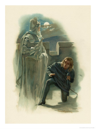 the ghost of hamlets father The ghost - the specter of hamlet's recently deceased father the ghost, who  claims to have been murdered by claudius, calls upon hamlet to avenge him.