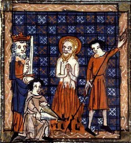 Martyrdom of St. Barnabas