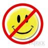 no happy face
