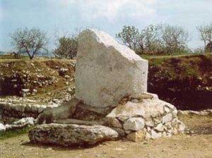 shechem stone