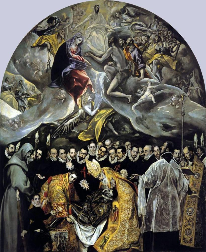 El Greco rocking a burial
