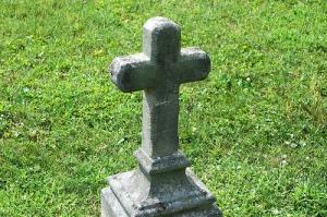tombstone cross