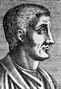 Roman poet Horace