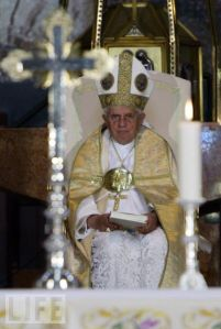 Pope in Nazareth