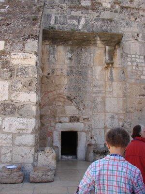 nativity basilica door
