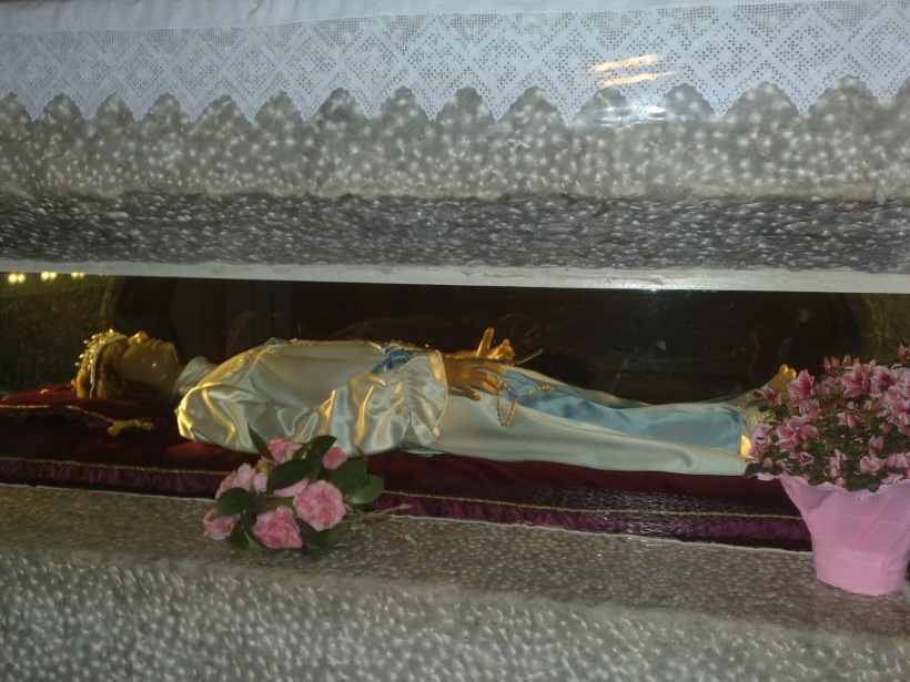 maria goretti tomb