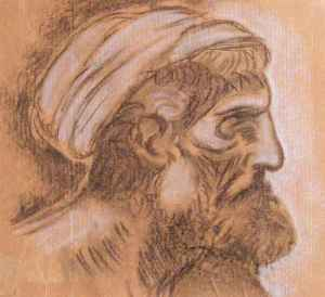 "da Vinci ""Head of a Pharisee"""