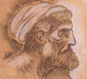 """da Vinci """"Head of a Pharisee"""""""
