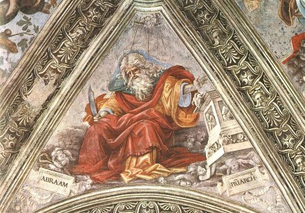 lippi abraham knife strozzi chapel