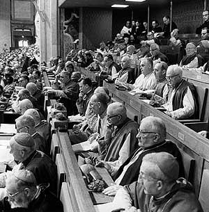 Vatican II stalls