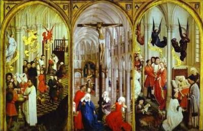 Rogier Van der Weyden Seven Sacraments altarpiece