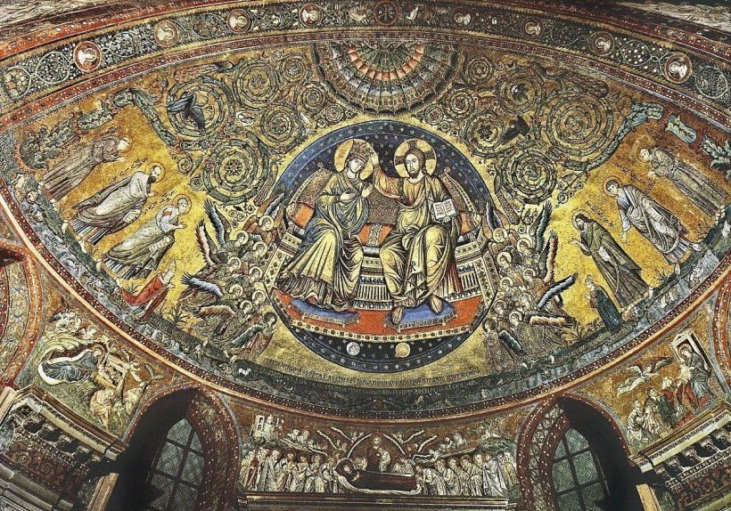 st mary major mosaic