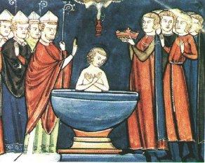 Clovis Baptism St Remi