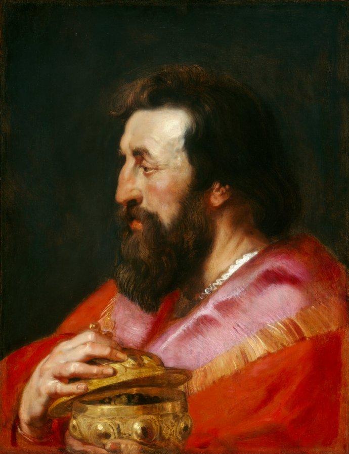 "Rubens ""Melchior the Assyrian"""