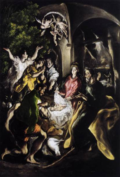 El Greco Nativity