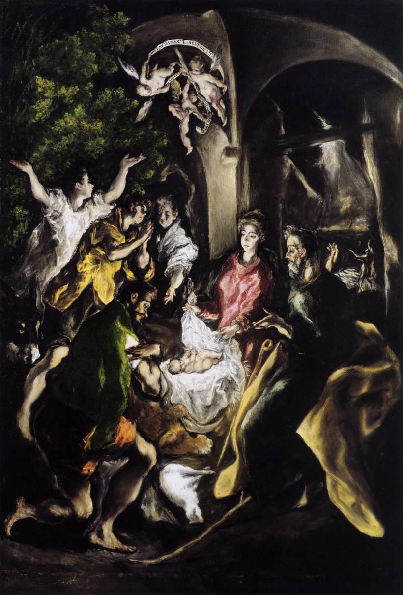 El Greco Nativity