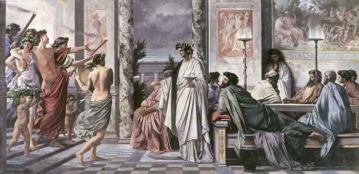 Plato's Symposium by Anselm Feuerbach