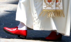 Pope Benedict shoes