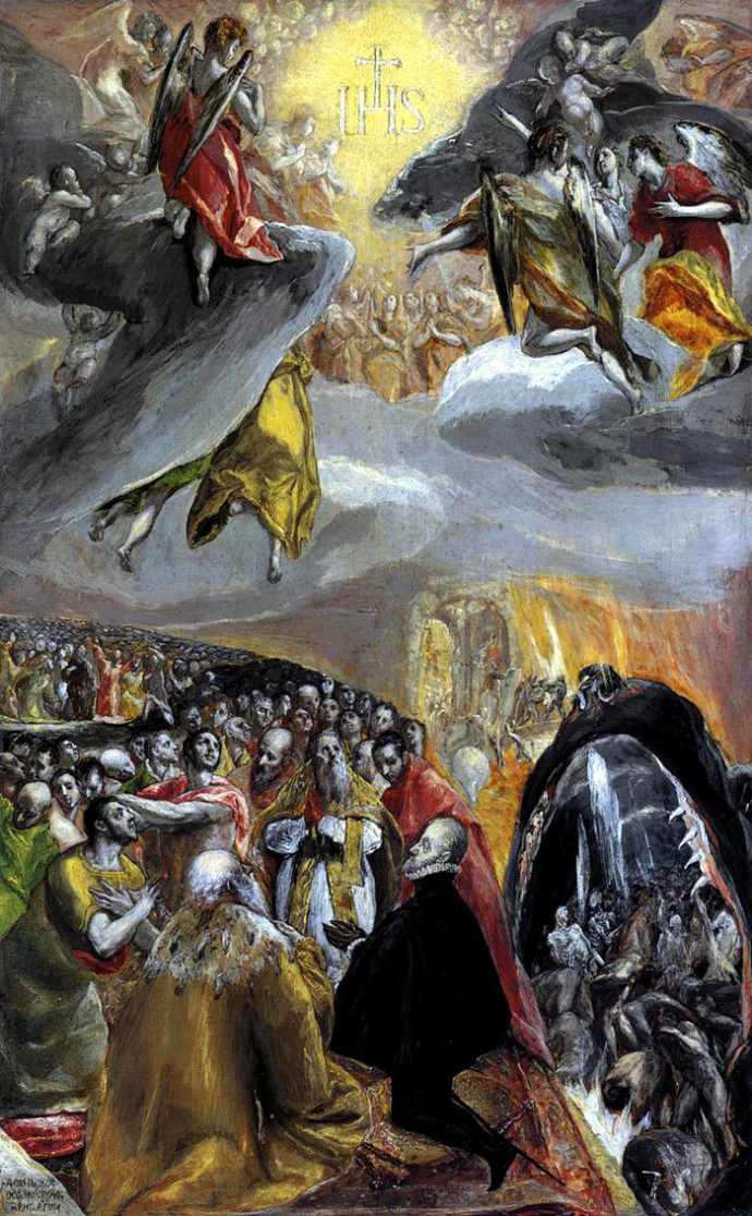 El Greco Adoration of the Holy Name of Jesus