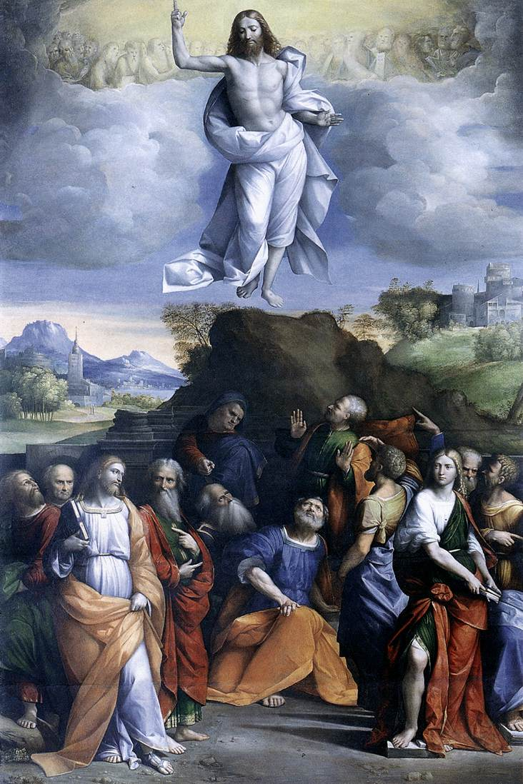 Garofalo Ascension of Christ