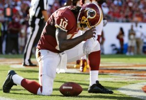 RGIII sign of the cross