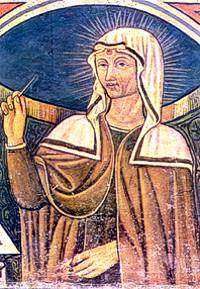 St. Rita with stigmata