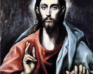 El Greco Christ blessing cropped
