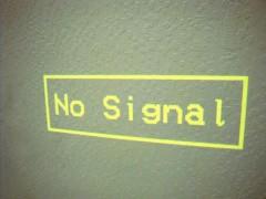 No Signal static