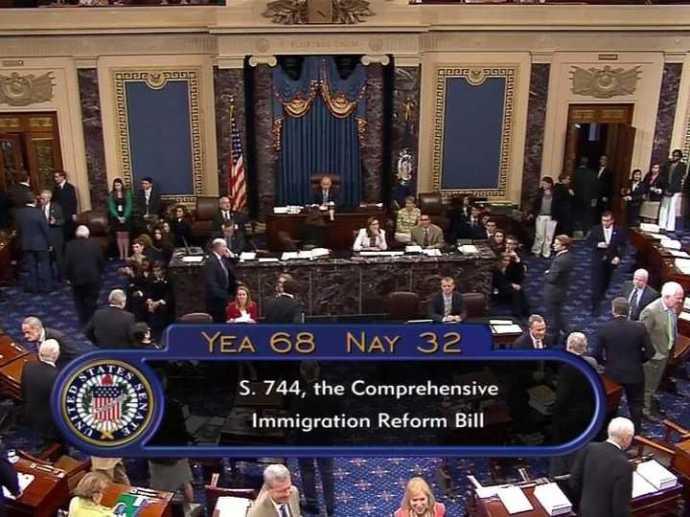 Senate passes immigration reform