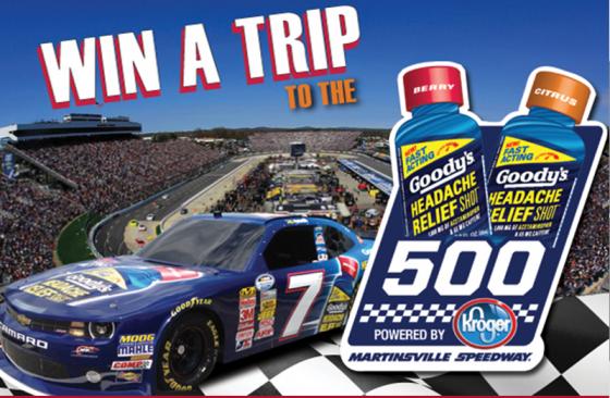 Goody's Martinsville NASCAR