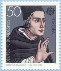 Albert the Great Septicentennial Stamp