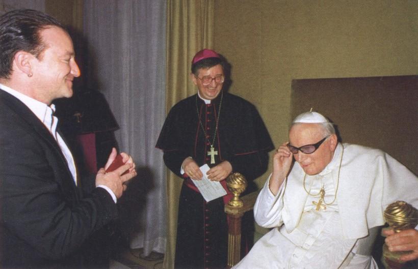 John Paul II Bono sunglasses