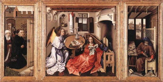 merode triptych